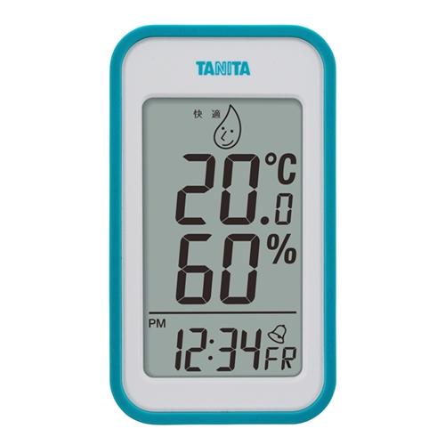 デジタル温湿度計 TT560 ブルー