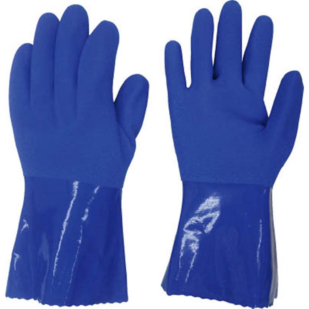 ニュー耐油3双組 LL ブルー #068