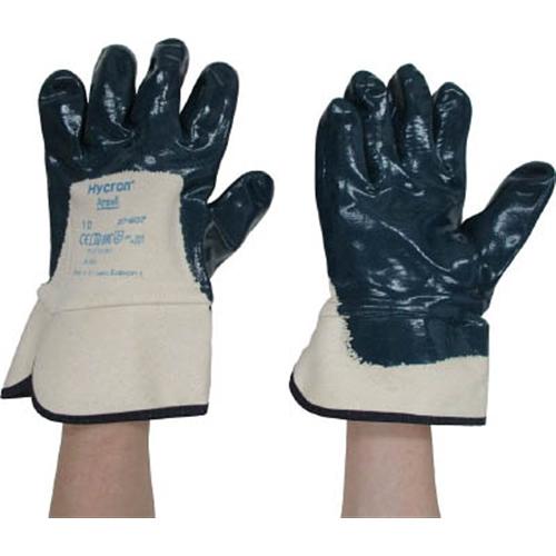 アンセル 作業用手袋 ハイクロン背抜きタイプ LL 27-607-10