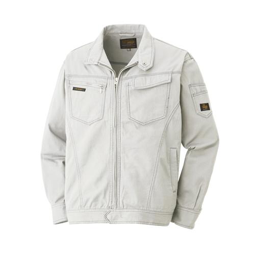 綿長袖ブルゾン 013−4 グレー L