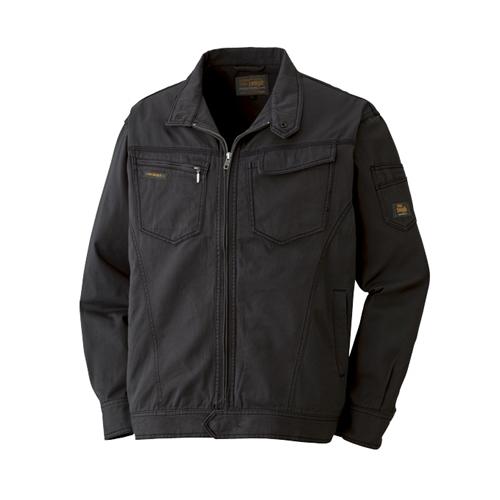 綿長袖ブルゾン 013−4 ブラック M