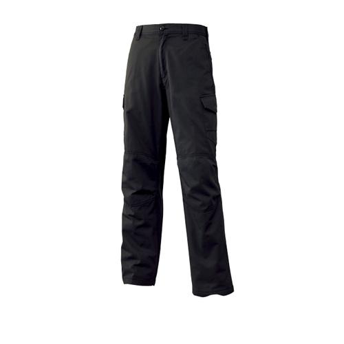 綿カーゴパンツ 017−1 ブラック 85
