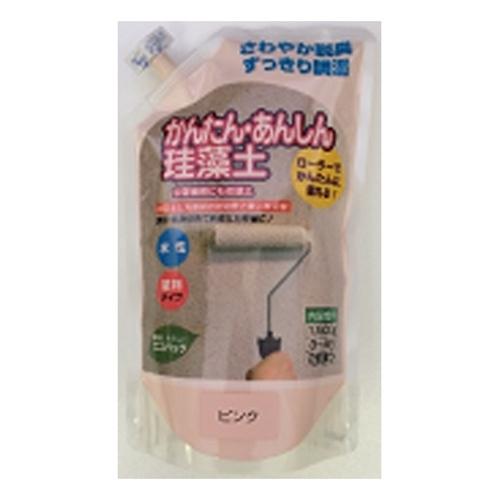 かんたん安心珪藻土 1.5KG ピンク