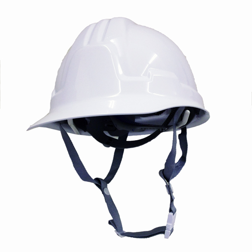 耐電ヘルメット白 前ひさし型 STー185FZ