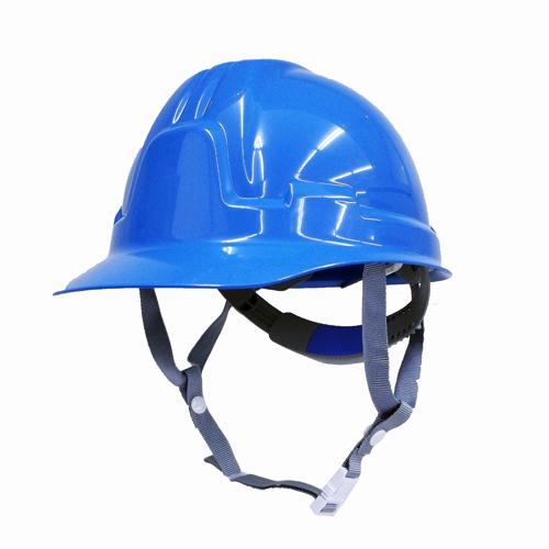 耐電ヘルメット青 前ひさし型 STー185FZ