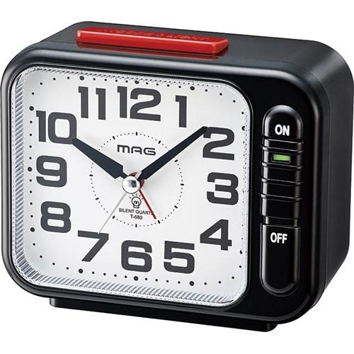 MAG目覚まし時計モーニングラリー2号 BK−Z