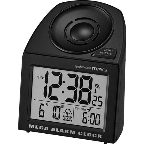 MAG電波大音量目覚まし時計メガサウンド BK−Z