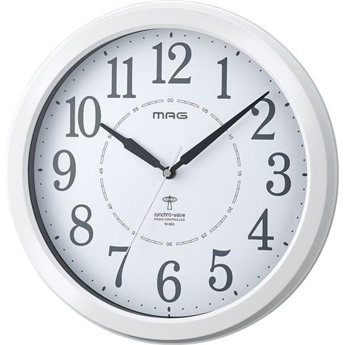 MAG電波掛時計アレースWH-Z