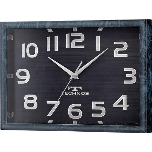 テクノス置掛両用電波掛時計 W−683SFB