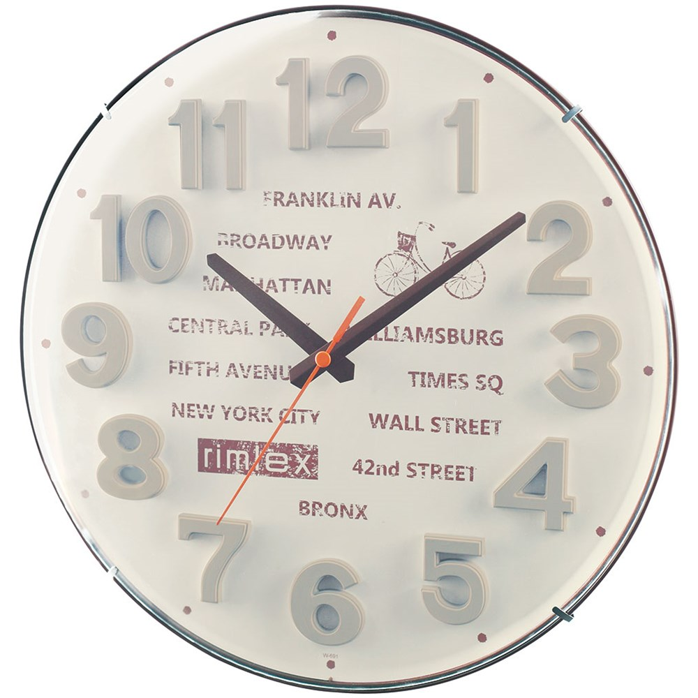 掛時計 ペリパリ  W-691GY-Z