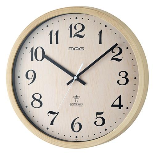 MAG電波掛時計ペストル N