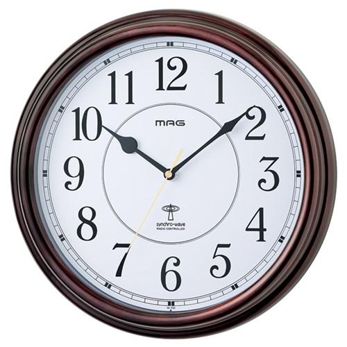MAG電波掛時計キサラギ BR−Z