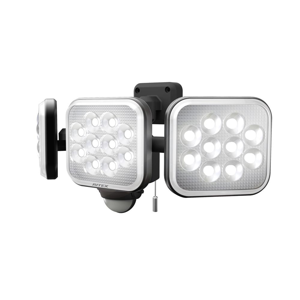 12W×3灯フリーアーム式LEDセンサーライト LED−AC3036