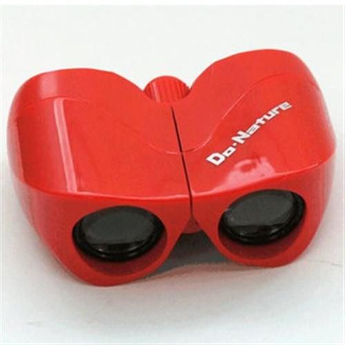 双眼鏡DO・NA赤 ドウ8×22赤