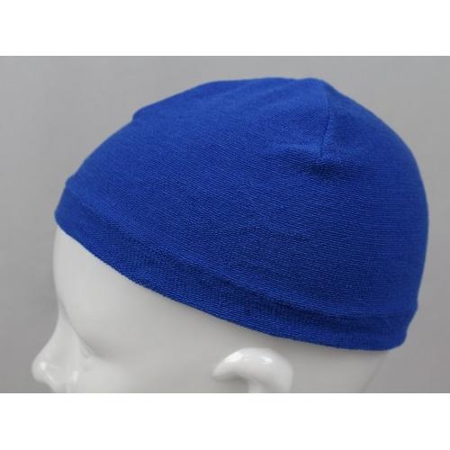 ヘルニットキャップ 1817 ブルー フリー