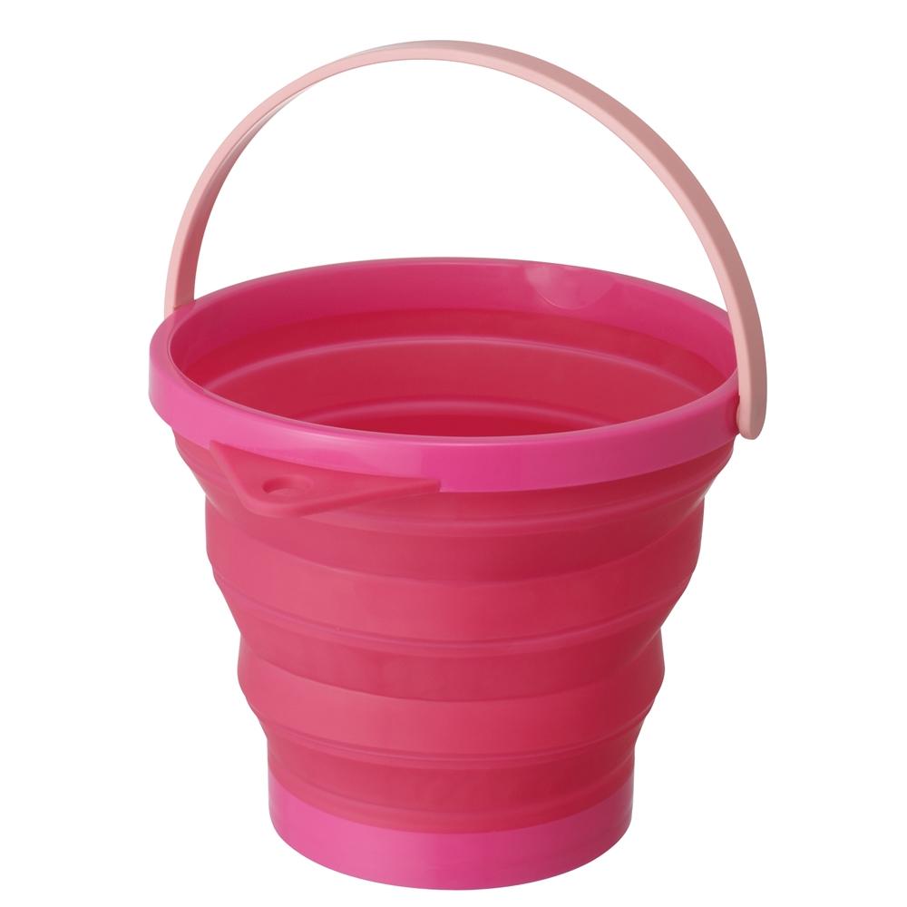 ソフトバケツ8型 ピンク