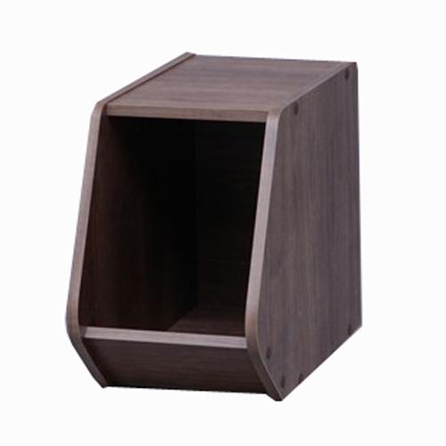 スタックボックス オープンタイプ  STB−200 ブラウン