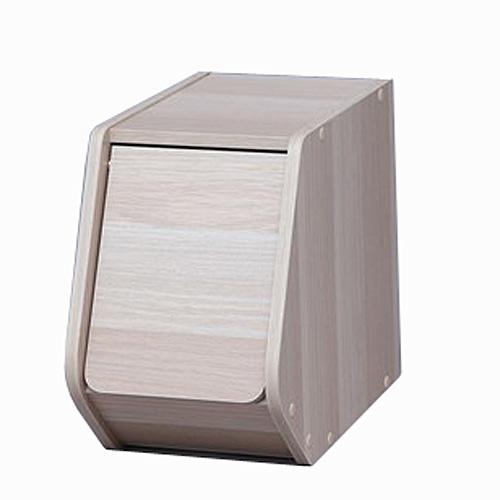 スタックボックス 扉付き  STB−200D ナチュラル