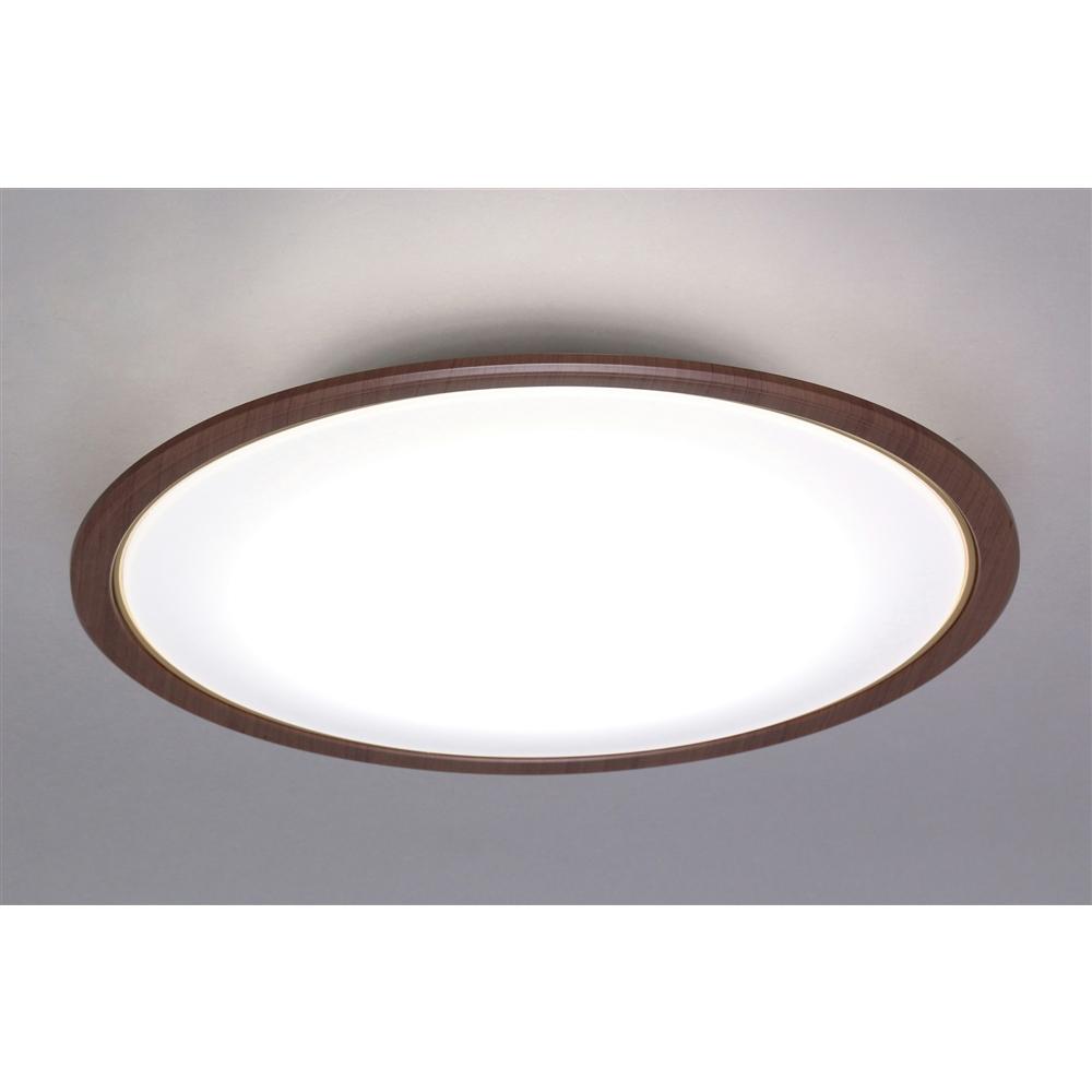 LEDシーリングライト 5.0シリーズ 木調フレーム 8畳調色 CL8DL-5.0WF-M
