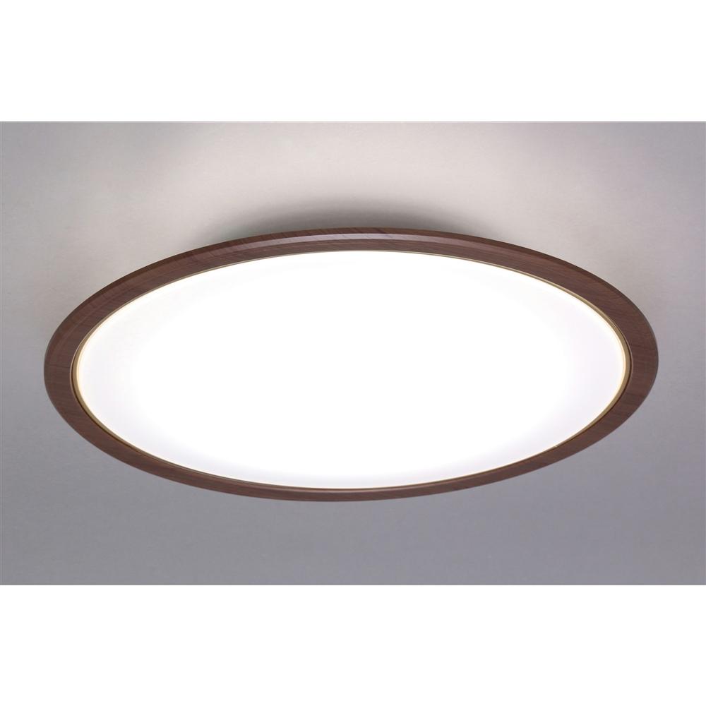 LEDシーリングライト 5.0シリーズ 木調フレームF 12畳調色 CL12DL-5.0WF-M