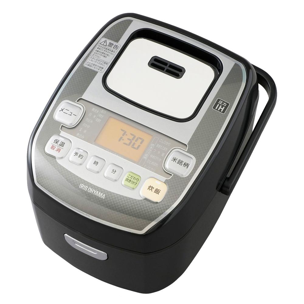 米屋の旨み 銘柄炊き 圧力IHジャー炊飯器 3合 RC-PA30-B