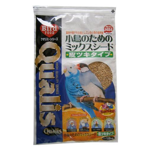 小鳥のための ミックスシード 皮ツキタイプ 1.8kg
