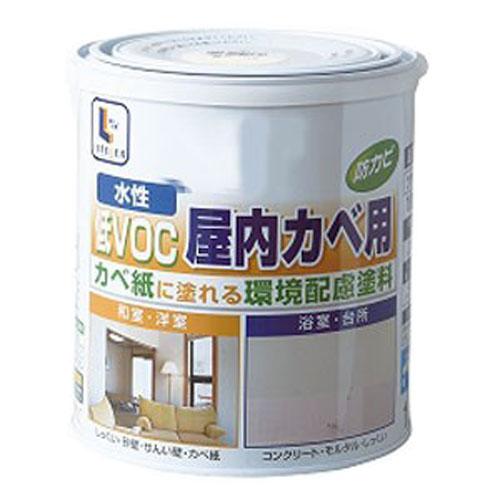 水性屋内カベ・浴室用 白 1.6L