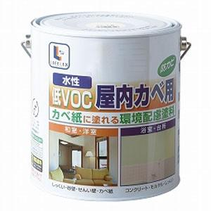 水性屋内カベ・浴室用 白 3L
