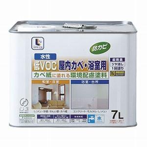 水性屋内カベ・浴室用 アイボリー 7L