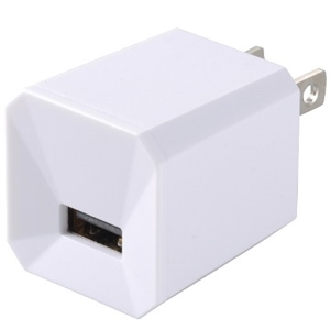AC充電器 USB1口 1A SMP−J1247W