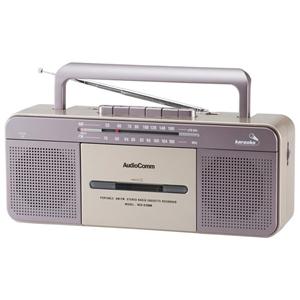 AudioComm ステレオラジカセ ワイドFM 補完放送対応 RCS−S708M