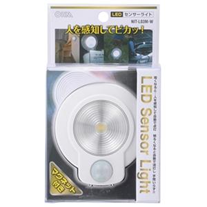 LEDセンサーライト ホワイト NIT−L03M−W