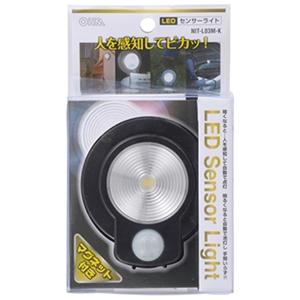 LEDセンサーライト ブラック NIT−L03M−K