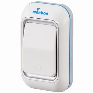 ワイヤレスチャイム 「monban」 押しボタン送信機 OCH−M40