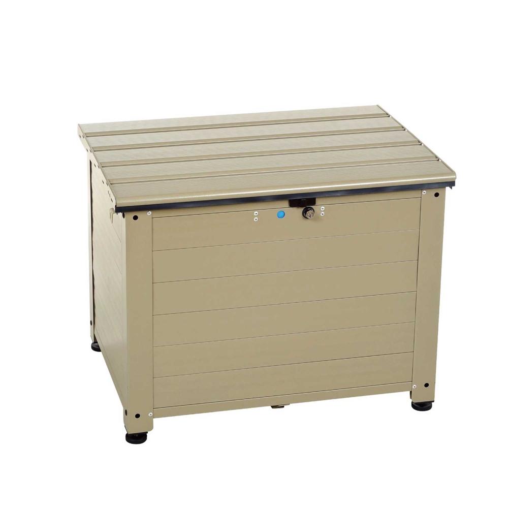 アルミベンチ型宅配ボックス TRA-64(TGY)