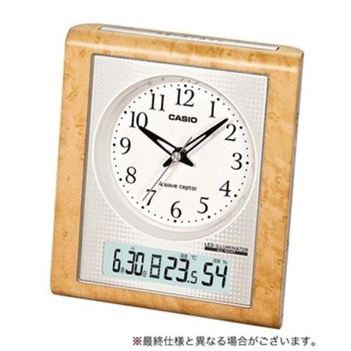 カシオ 電波目覚し時計 TQT−351NJ−7JF