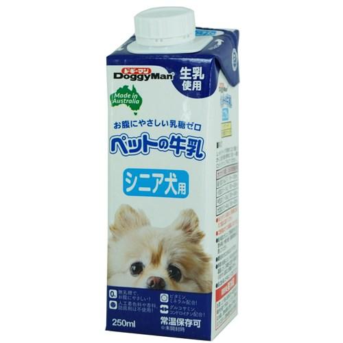ペットの牛乳 シニア犬用250ml