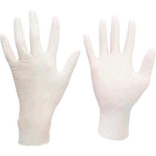 ミドリ安全 ニトリル使い捨て手袋 極薄 粉なし 100枚入 白 M VERTE711M