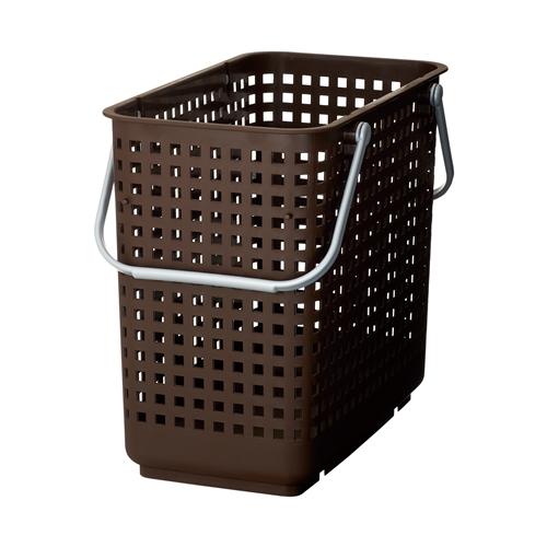 SCBシリーズ スカンジナビア スタッキングランドリーバスケットL ブラウン