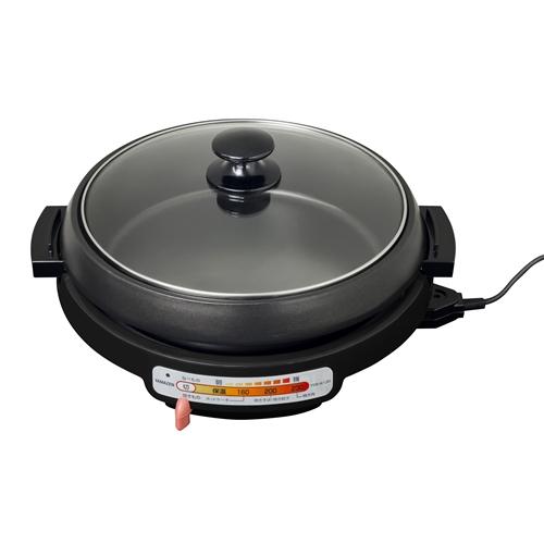 YAMAZEN グリル鍋2枚プレート YGB−W130(B)