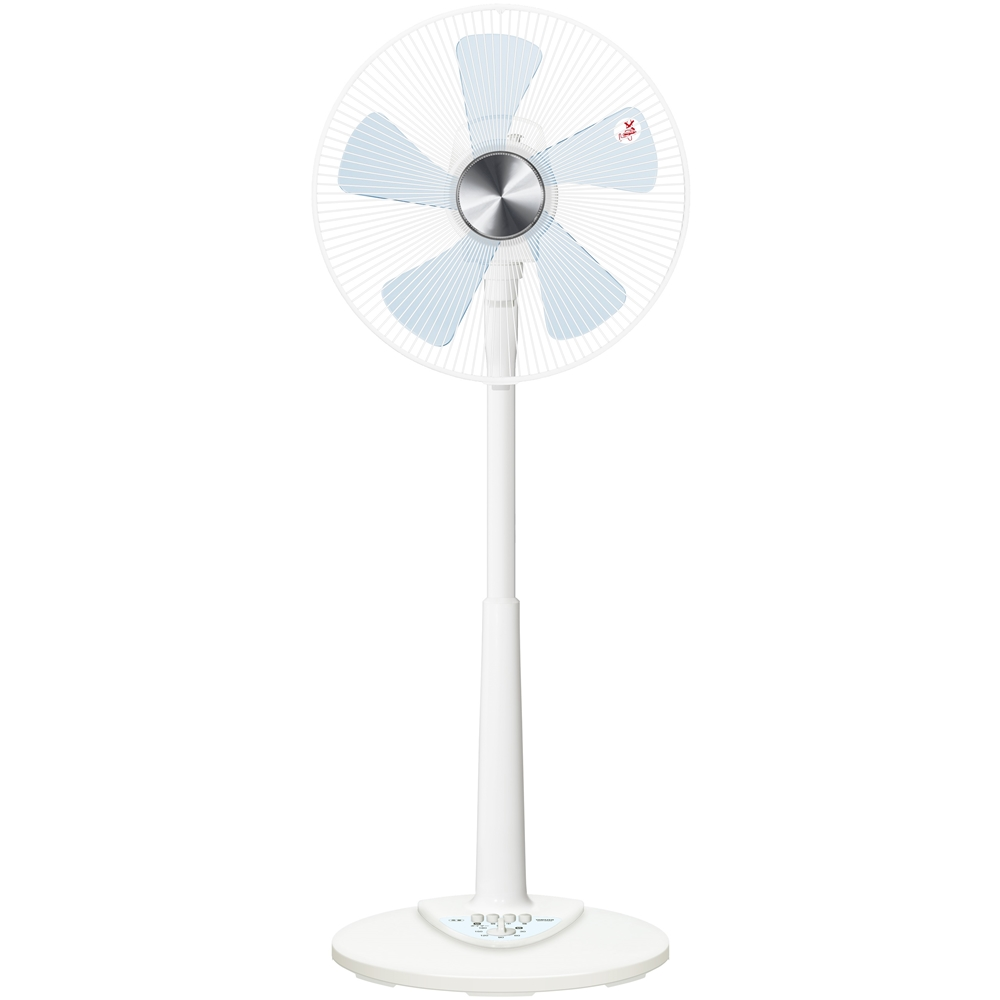 35cm羽根押しボタン式扇風機 KHT−D356−W ホワイト