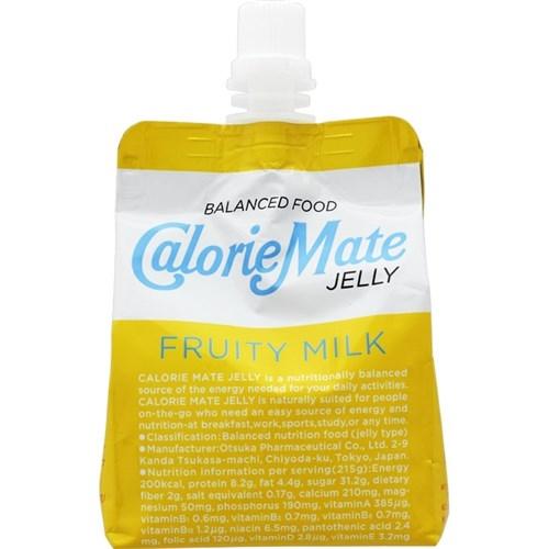 大塚製薬 カロリーメイト ゼリー フルーティ ミルク味 215g