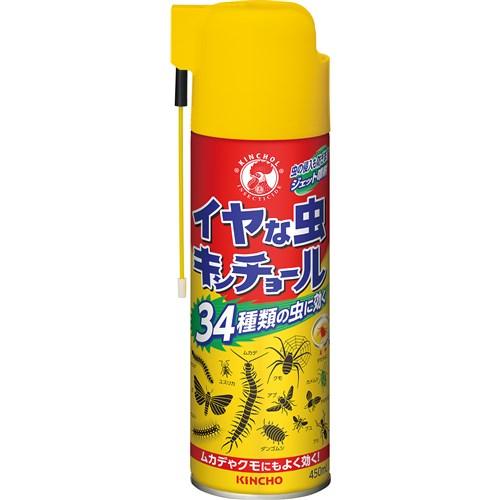 イヤな虫キンチョール450ml
