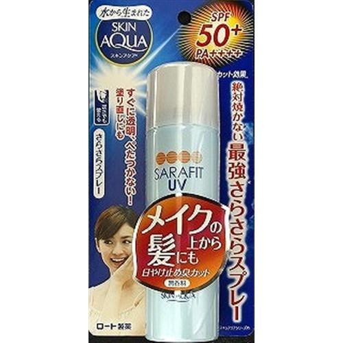 スキンアクアサラフィット UVさらさらスプレー無香料 50g
