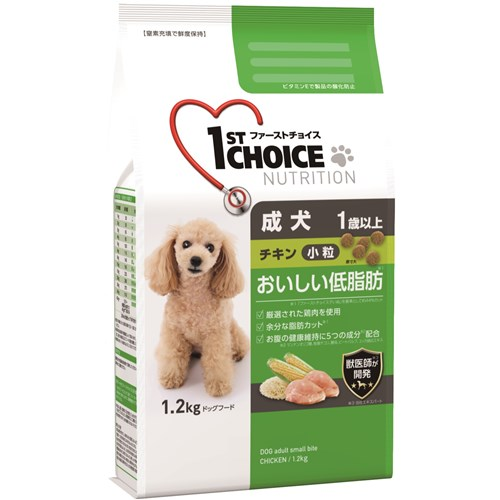 ファーストチョイス 成犬小粒チキン 1.2kg