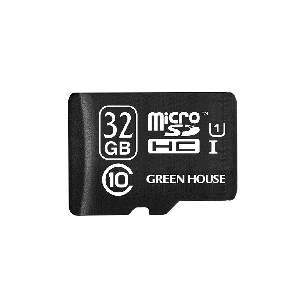 microSDHCカード UHS−I U1 クラス10 32GB GH−SDMRHCUB32G