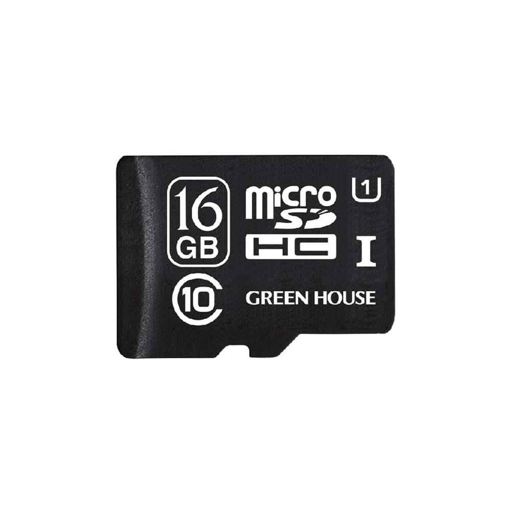 microSDHCカード UHS−I U1 クラス10 16GB GH−SDMRHCUB16G
