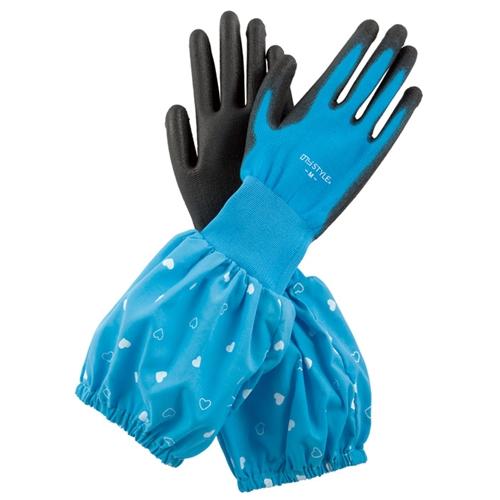ウレタン袖付手袋NS−15 ブルー M