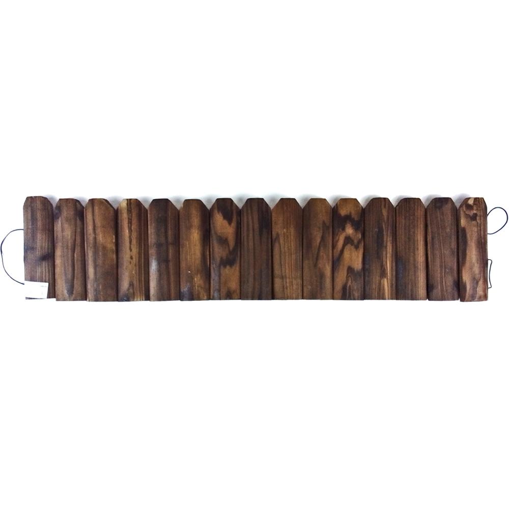 コーナンオリジナル 木製 ミニ連杭 約幅90×厚2×高さ20cm