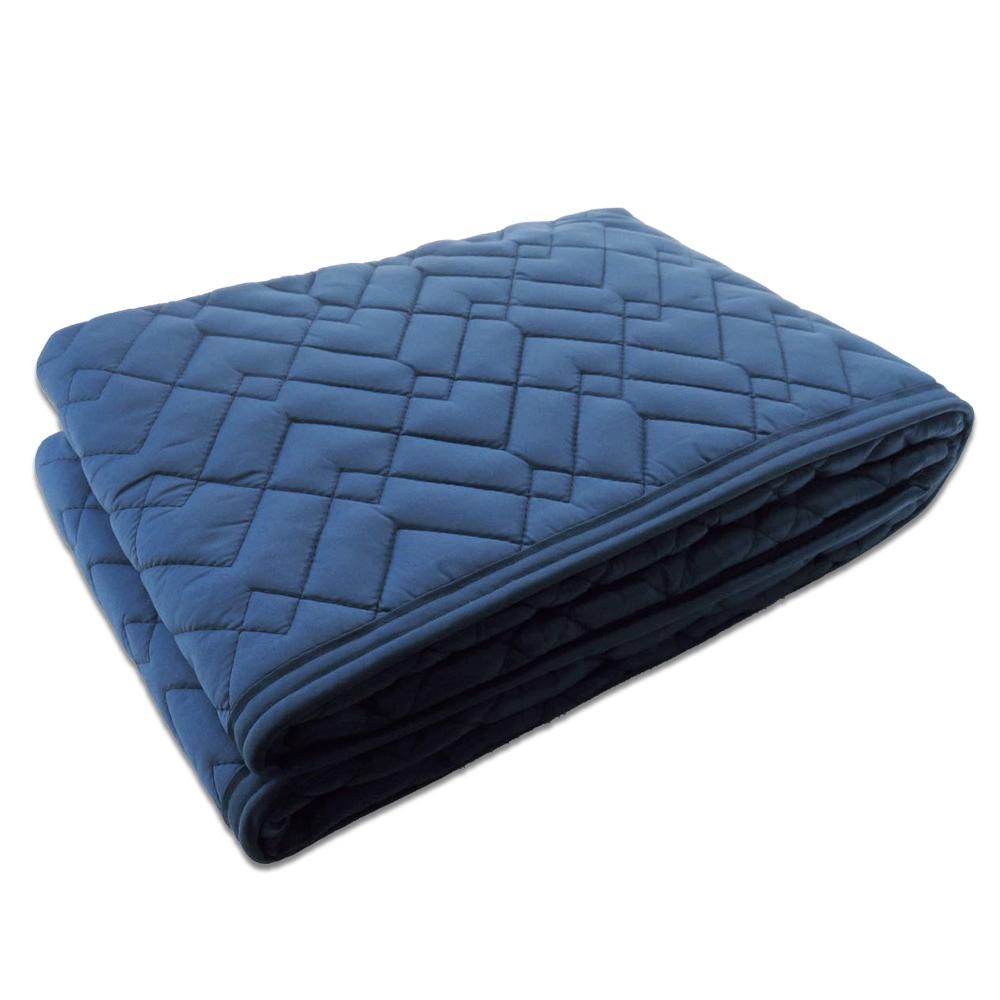 コーナンオリジナル 養生用中綿パッド滑止付 ネイビー 約90×180cm